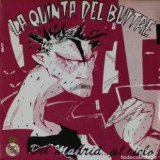 Discos de vinilo: LA QUINTA DEL BUITRE// DEL MADRID AL CIELO// SINGLE PROMOCIONAL// 1987// TWINS. Lote 207076546