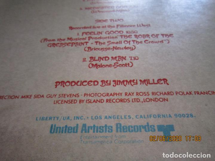 Discos de vinilo: TRAFFIC - LAST EXIT LP - ORIGINAL U.S.A. - UNITED ARTISTS RECORDS 1969 - STEREO - MUY BUEN ESTADO - Foto 7 - 207078338