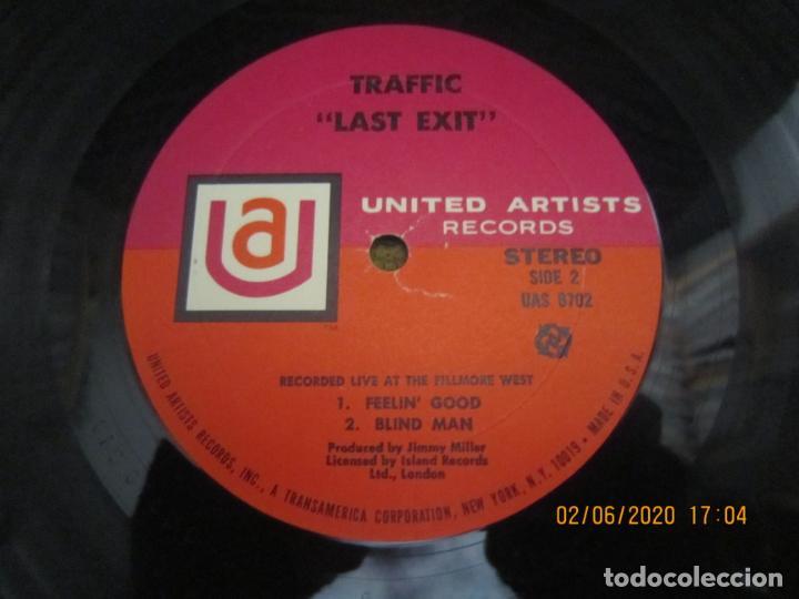 Discos de vinilo: TRAFFIC - LAST EXIT LP - ORIGINAL U.S.A. - UNITED ARTISTS RECORDS 1969 - STEREO - MUY BUEN ESTADO - Foto 15 - 207078338