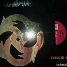 Discos de vinilo: TRAFFIC - LAST EXIT LP - ORIGINAL U.S.A. - UNITED ARTISTS RECORDS 1969 - STEREO - MUY BUEN ESTADO. Lote 207078338