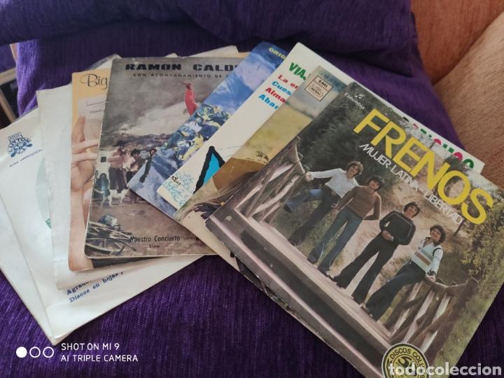 LOTE, 9 SINGLES, AÑOS 60/70, VER, LOS FRENOS, ALICIA Y N. GRISES, L. PANCHOS, P. TAM., O. TITAN ETC (Música - Discos - Singles Vinilo - Grupos Españoles 50 y 60)