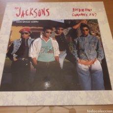 "Discos de vinilo: DISCO DE VINILO (MAXI-SINGLE) THE JACKSONS ""NOTHIN (THAT COMPARES 2U)"". Lote 207089668"