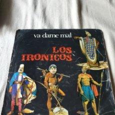 Discos de vinilo: LOS IRONICOS. Lote 207089772