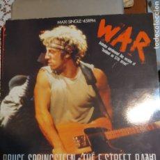 Discos de vinilo: BRUCE SPRINGSTEEN. WAR MAXI SINGLE. Lote 207096711