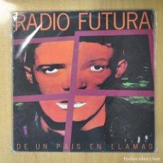 Discos de vinilo: RADIO FUTURA - DE UN PAIS EN LLAMAS - LP. Lote 207098311