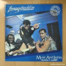 Discos de vinilo: IMAGINATION - MUSIC AND LIGHTS (MUSICA Y LUCES) - MAXI. Lote 207098688