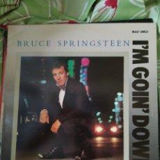 Discos de vinilo: BRUCE SPRINGSTEEN. I'M GOIN' DOWN. MAXI SINGLE. Lote 207099161