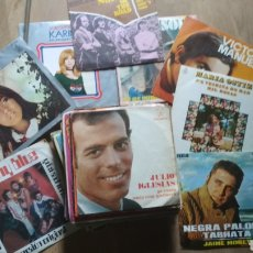 Discos de vinilo: LOTE 33 DISCO DE VINILO SINGLES. Lote 207101390
