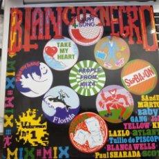 Discos de vinilo: BLANCO Y NEGRO MIX (LP, COMP, MIXED) 1984.SELLO:BLANCO Y NEGRO MXLP-20.COMO NUEVO. ITALO DISCO. Lote 207101738