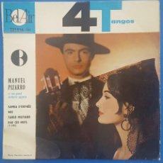 Discos de vinilo: EP / MANUEL PIZARRO 4 TANGOS / SAMBA D'ORPHÉE +3 / BEL-AIR RECORDS FRANCIA. Lote 207102001