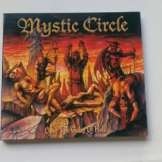 Discos de vinilo: 0620- MYSTIC CIRCLE OPEN THE GATES OF HELL - CD DISCO NUEVO LIQUIDACION!. Lote 207103495