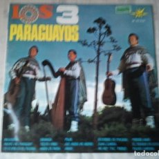 Discos de vinilo: RETRO DISCO DE LOS 3 PARAGUAYOS. ANTIGUO VINILO.. Lote 207103745