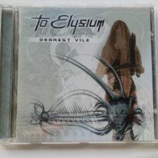 Discos de vinilo: 0620- TO ELYSIUM DEAREST VILE - CD DISCO NUEVO LIQUIDACION!. Lote 207104780