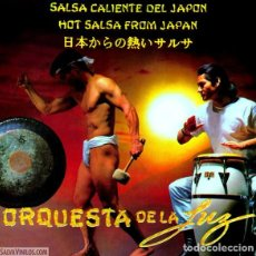 Discos de vinilo: ORQUESTA DE LA LUZ – SALSA CALIENTE DEL JAPÓN. Lote 207105220