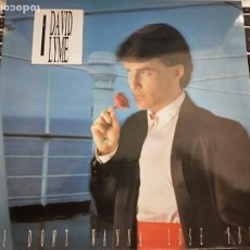 "Discos de vinilo: DAVID LYME - I DON'T WANNA LOSE YOU (12"", MAXI) 1986.MAX MUSIC MAX-212. COMO NUEVO. ITALO-DISCO. Lote 207106862"