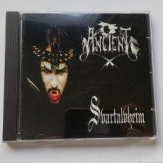 Discos de vinilo: 0620- ANCIENT SVARTALVHEIM - CD DISCO NUEVO LIQUIDACION!. Lote 207108626