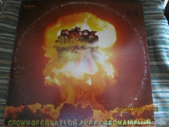 Discos de vinilo: JEFFERSON AIRPLANE - CROWN OF CREATION LP - ORIGINAL U.S.A. - RCA VICTOR RECORDS 1968 - STEREO - - Foto 24 - 207108842