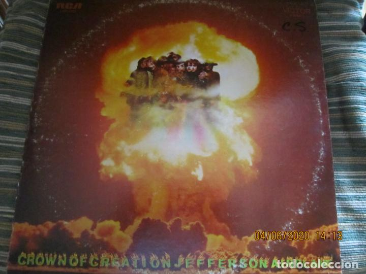 JEFFERSON AIRPLANE - CROWN OF CREATION LP - ORIGINAL U.S.A. - RCA VICTOR RECORDS 1968 - STEREO - (Música - Discos - LP Vinilo - Pop - Rock Extranjero de los 50 y 60)