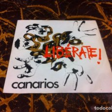 Discos de vinil: SINGLE - EP. LOS CANARIOS. FREE YOURSELF. I WONDER WHAT FREEDOM MEANS. 1970. LIBÉRATE. Lote 207111646