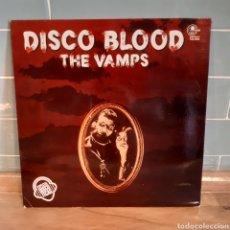 Discos de vinilo: THE VAMPS 'DISCO BLOOD' LP (1977). Lote 207116973