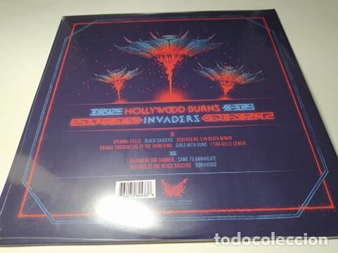 Discos de vinilo: LP - Hollywood Burns – Invaders - BLOOD-197 - 2018 ( ¡¡ Nuevo!! ) - Foto 2 - 207118586