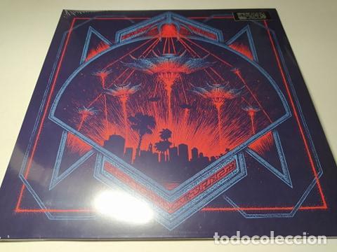 LP - HOLLYWOOD BURNS – INVADERS - BLOOD-197 - 2018 ( ¡¡ NUEVO!! ) (Música - Discos - LP Vinilo - Electrónica, Avantgarde y Experimental)