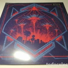 Discos de vinilo: LP - HOLLYWOOD BURNS ‎– INVADERS - BLOOD-197 - 2018 ( ¡¡ NUEVO!! ). Lote 207118586