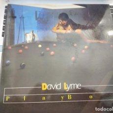 "Discos de vinilo: DAVID LYME - PLAYBOY (12"", MAXI) 1986 SELLO:MAX MUSIC CAT. Nº: MAX 184.COMO NUEVO. ITALO-DISCO. Lote 207119240"