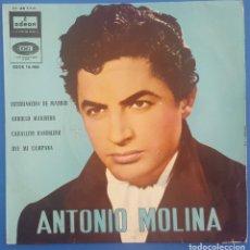 Discos de vinil: EP / ANTONIO MOLINA / ESTUDIANTINA DE MADRID +3 / EMI ODEON 1962. Lote 207121760