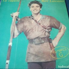 Discos de vinilo: HOMBRES G-LA CAGASTE BURT LANCASTER-CONTIENE ENCARTE. Lote 207130363