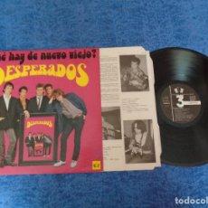 Discos de vinilo: DESPERADOS SPAIN LP 1986 ¿QUE HAY DE NUEVO VIEJO ? SPANISH POP ROCK MUY BUEN ESTADO !! MIRA. Lote 207133762