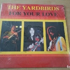 Discos de vinilo: LP YARDBIRDS FOR YOUR LOVE ASTAN RE GERMANY JEFF BECK JIMI PAGE CLAPTON. Lote 207137893