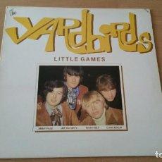 Discos de vinilo: LP YARDBIRDS LITTLE GAMES FAME RE 1981 JEFF BECK JIMI PAGE CLAPTON. Lote 207138221