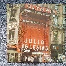 Discos de vinilo: JULIO IGLESIAS - DIRECTO EN EL OLYMPIA.(LP. DOBLE) EDITADO POR COLUMBIA. AÑO 1.976 (PERFECTO ESTADO). Lote 239995560