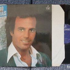 Discos de vinilo: JULIO IGLESIAS - YO CANTO. EDITADO POR COLUMBIA. AÑO 1.969. Lote 207141733