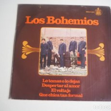 Discos de vinilo: LOS BOHEMIOS EP HISPAVOX 17393 (1967) EL VOLTAJE + 3 (VERSIÓN ROLLINGS). Lote 207142398