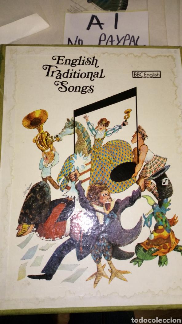 Discos de vinilo: Lote 13 single english traditional songs bbc courses curso ver fotos caja necesita limpieza manchas - Foto 3 - 207144161