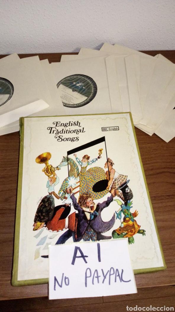 LOTE 13 SINGLE ENGLISH TRADITIONAL SONGS BBC COURSES CURSO VER FOTOS CAJA NECESITA LIMPIEZA MANCHAS (Música - Discos - Singles Vinilo - Étnicas y Músicas del Mundo)