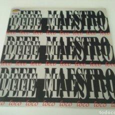 Discos de vinilo: DEEE MAESTRO - LOCO. Lote 207146820