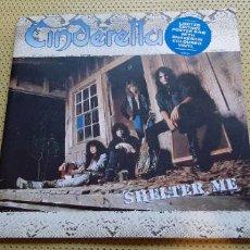 Discos de vinilo: CINDERELLA -SHELTER ME- (1990) VINILO DISCO LP. Lote 207152138