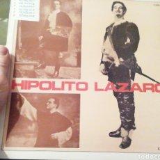 Discos de vinilo: HIPÓLITO LAZARO. DOÑA FRANCISQUITA. VINILO. Lote 207154102