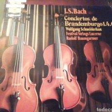 Discos de vinilo: J. S. BACH. CONCIERTOS DE BRANDERBURGO. 1, 2, 3, 4, 5 Y 6. DOS VINILOS.. Lote 207154698