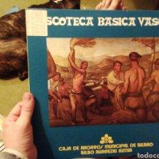 Discos de vinilo: DISCOTECA BÁSICA VASCA. VINILO.. Lote 207154853