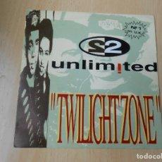 """Discos de vinilo: 2 UNLIMITED, SG, TWILIGHT ZONE (7"""" VOCAL) + 1, AÑO 1992 PROMO. Lote 207154993"""