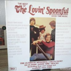 Discos de vinilo: THE LOVIN' SPOONFUL ‎– THE BEST OF THE LOVIN' SPOONFUL GOOD TIME MUSIC - RAVEN RECORDS. Lote 207167193