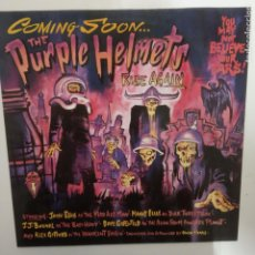 Discos de vinilo: THE PURPLE HELMETS- RISE AGAIN - SPAIN LP 1989 - VINILO EXC. ESTADO.. Lote 207176283