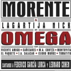 "Discos de vinilo: DISCO DE VINILO (DOBLE LP) MORENTE ""OMEGA"". Lote 207178440"