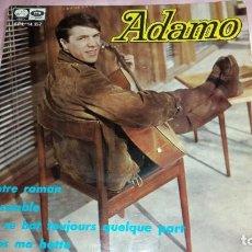 Discos de vinilo: ADAMO - EP SPAIN - VER FOTOS. Lote 207179688