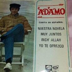 Discos de vinilo: ADAMO - EP SPAIN - VER FOTOS. Lote 207179753