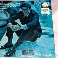Discos de vinilo: ADAMO - EP SPAIN - VER FOTOS. Lote 207179833